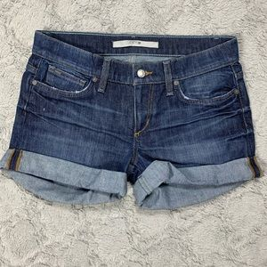 Joe's Jeans Rolled Up Jean Shorts medium wash